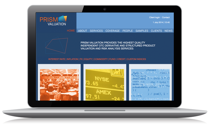 2011 Prism home page