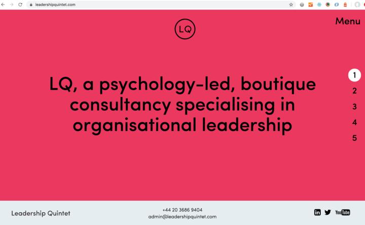 Leadership Quintet