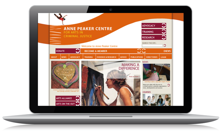 2008 Anne Peaker home page
