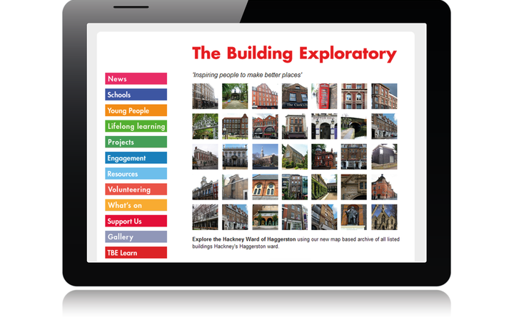 2009 Building Exploratory home page