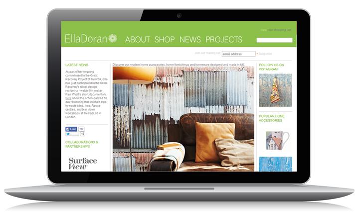 2011 Ella Doran home page