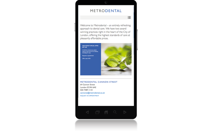 Metrodental home page