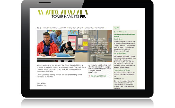 Tower Hamlets PRU home page