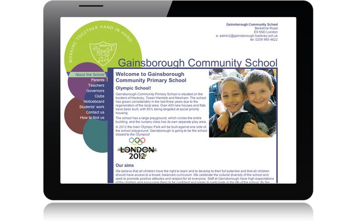 2006 Hackney Schools Education Zone,Gainsborough Community School home page