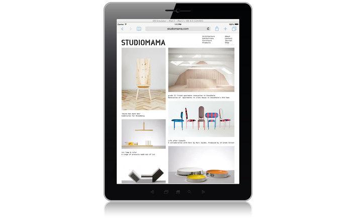 STUDIOMAMA home page