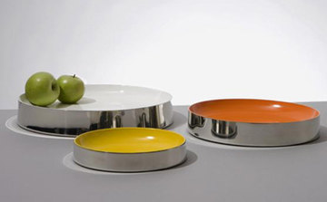 From the Studiomama website: Pewter Bowls by Nina Tolstrup